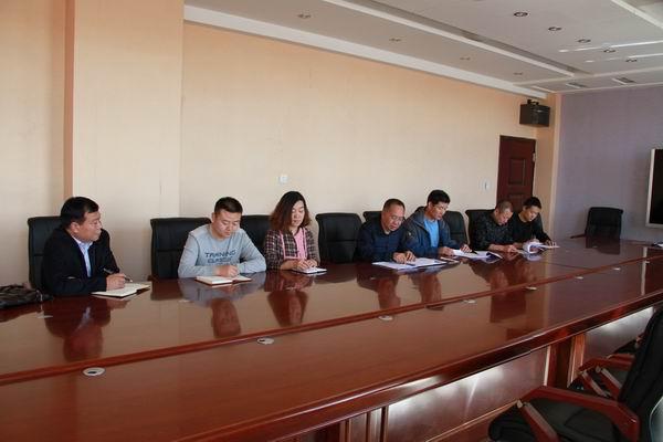 内蒙古法制报记者到阿鲁科尔沁旗司法局调研采访